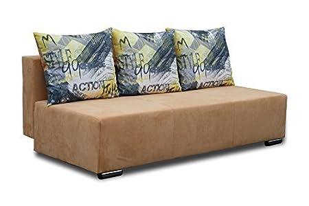 2-Sitzer Otto 2er cojín del sofá función sofá cama 01346