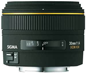 Sigma Objectif 30 mm F1,4 EX DC - Monture Sony