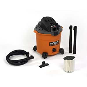 Rigid Wet/Dry Shop Vac. 5.0 HP + Filters WD1636