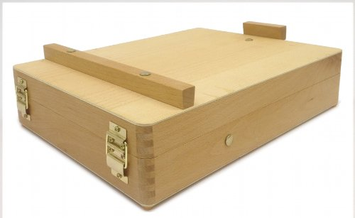 Zen Art Supply Desktop Artist Easel Wooden Portable Stand Student Painting
