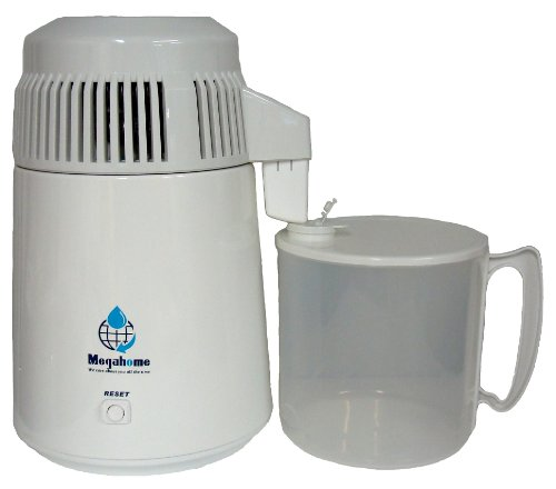 Water Distiller, Countertop, White Enamel