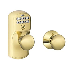 Schlage Fe575 Ply 505 Ply Plymouth Keypad Entry With Auto