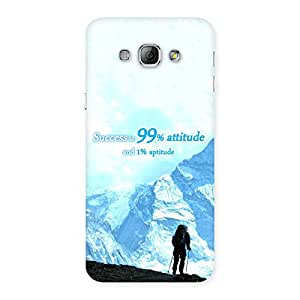 Attitude Success Back Case Cover for Galaxy A8