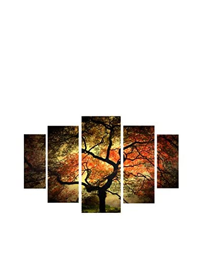 "Philippe Sainte-Laudy ""Japanese"" 5-Panel Art Set, 43″ x 34″"