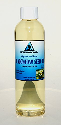 Meadowfoam Seed Oil Organic Carrier Expeller Pressed 100% Pure 4 oz