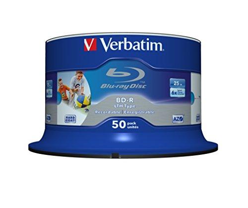 verbatim-43813-bd-r-6x-50-pack-lth-optical-media