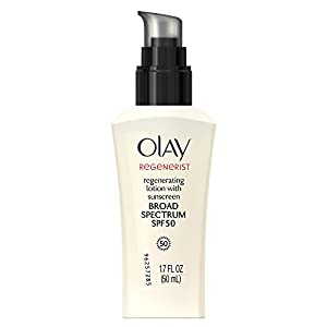 Olay Regenerist Regenerating Lotion With Sunscreen Broad Spectrum SPF 50 1.7 Fl Oz