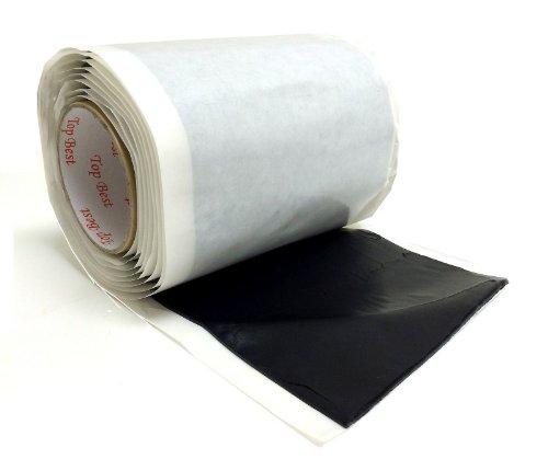 "Self Adhesive 6 1/2"" X 10' Insulating Mastic Seal Bishop Tape Direct Tv Approve"