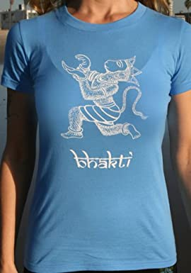 Bhakti Hanuman T-Shirt- Women's