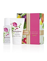 Crabtree & Evelyn® Rosewater Bath & Body Mini Gift Set