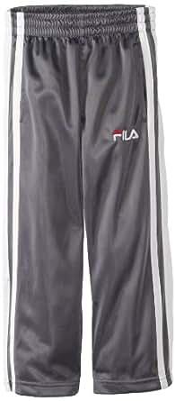 Fila Little Boys' Classic Track Pant, Grey, 4