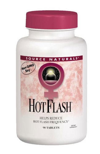 Source Naturals Hot Flash, Helps Reduce the Frequency of Hot Flashes Associated with Menopause, 180 Tablets (Hot Flash Remedy compare prices)
