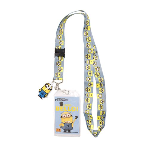 Despicable Me 2 Minion Faces Lanyard