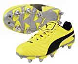 Esito Finale WC H8 SG Rugby Boots Yellow/Black/Silver - size 10