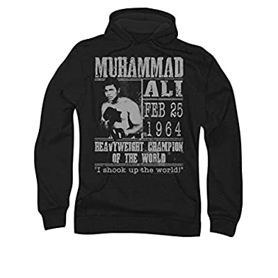 Muhammad Ali Poster Pull Over Hoodie
