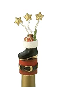 October Hill Holiday Bottle Topper Santa's Boot at Sears.com