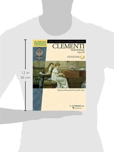 Muzio Clementi: Sonatinas Op.36: Sonatinas Opus 36 (Schirmer Performance Editions)