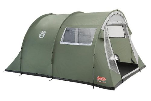 COLEMAN COASTLINE 4 PERSON/MAN DELUXE CAMPING TENT CAMP