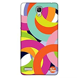 Designer Redmi Note 4G-Xiaomi Case Cover Nutcase-Rings Of Color