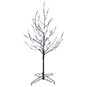 #!Cheap Kurt Adler 4-Feet Pre-Lit LED Cherry Blossom Twig Tree
