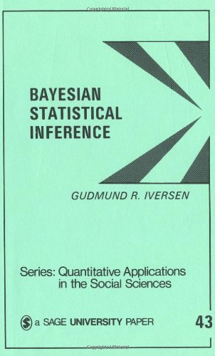 Bayesian Statistical Inference (Quantitative Applications In The Social Sciences) front-191681