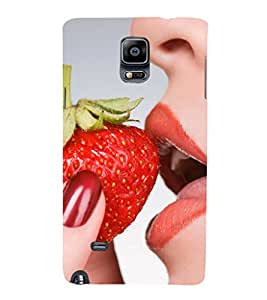 EPICCASE seduction bite Mobile Back Case Cover For Samsung Galaxy Note Edge (Designer Case)