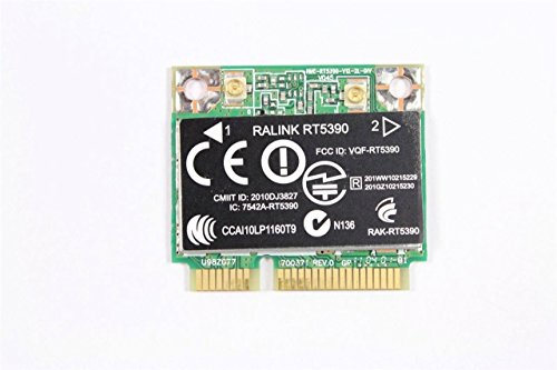 Ralink Rt5390 802.11 B/G/N Wifi Wlan Wireless Half Mini Pcie Express Card