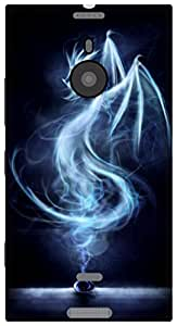 The Racoon Grip printed designer hard back mobile phone case cover for Nokia Lumia 1520. (Song of Dr)