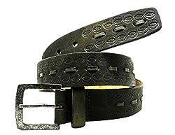 La Palma Brown Leather Belts N.32029