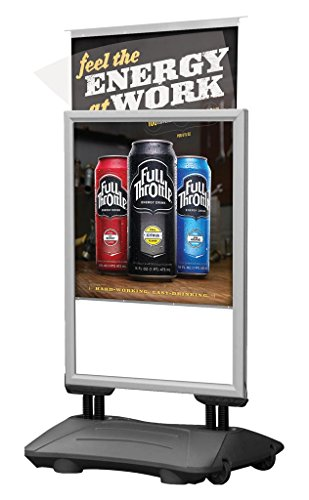 Slide-in-WindPro-22-x-28-Poster-Size-Silver-Frame-Grey-Water-Base