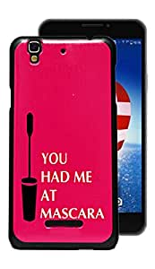 ECellStreet Exclusive Printed Hard Back Case Cover Back Cover For Micromax YU Yureka AQ5510 - You Had Me