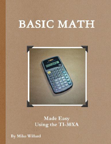 Basic Shop Math made easy using the TI-30XA (Math Basics Made Easy compare prices)