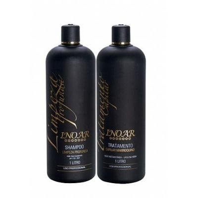 Brazilian Keratin Hair Blow Dry 1 Liter KIT, Original Bottles - INOAR