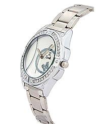 Zerk Analog Silver Dial Round Casual Women's Watch - Zrk-W117