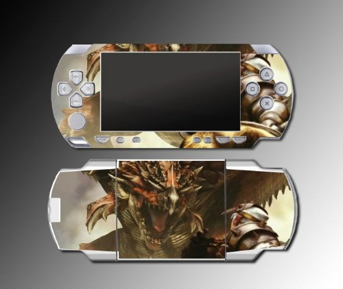 Monster Hunter Freedom game Decal Cover SKIN for Sony PSP 1000 Playstation Portable
