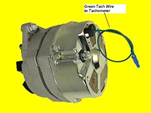 105 Amp Delco Marine Alternator Mercruiser 1-Wire by Lester