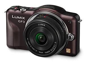 Panasonic Lumix DMC-GF3CT Kit 12.1 MP Digital Camera with 14mm Pancake Lens