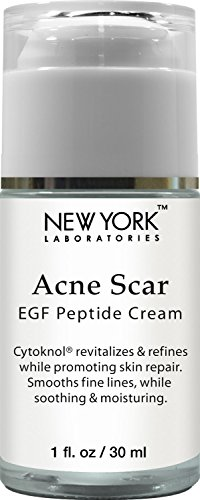 New York Laboratories Acne Scar Removal Cream with EGF Peptide-Cytoknol, Helps with Skin Repair, Reduces the Appearance of Acne Scars, Fine Lines & Wrinkles, 1 oz (Laser To Remove Scars compare prices)