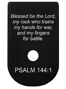 Magazine Base Plate for Glock 42 - PSALM 144:1