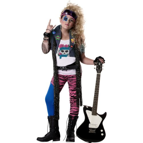 80s Glam Rocker Kids Costume
