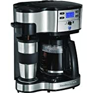 Hamilton-Proctor 49980Z Hamilton Beach 2-Way Coffee Brewer