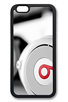 buy 6 Plus Case, Iphone 6 Plus Case White Beats Headphones Creativity Tpu Silicone Gel Back Cover Skin Soft Bumper Case Cover For Apple Iphone 6 Plus