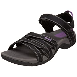 Teva Women's Tirra Sandal,Black/Grey,8.5 M US