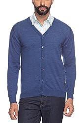 Raymond Dark Blue Men's Sweater