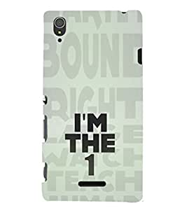 ifasho Designer Phone Back Case Cover Sony Xperia T3 ( Baby Pink and Brown Checks Pattern )