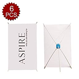 Aspire Table Tripod X Banner Stand For Store Display 6Pcs 10\