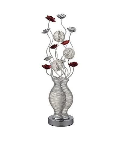 Artistic Lighting Table Lamp, Silver