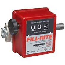Fill-Rite 807CMK 807C Meter With Pipe Fittings