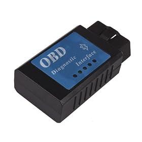 BAFX Brand - ELM327 BLUETOOTH - OBDII OBD2 DIAGNOSTIC SCANNER - CAN ELM 327 SCANTOOL - CHECK ENGINE LIGHT CAR CODE READER