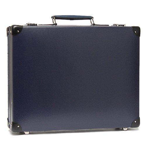 グローブトロッター スーツケース 18インチ GLOBE TROTTER GTORGNB18SA ORIGINAL SLIM ATTACHE NAVY/BLACK[並行輸入品]